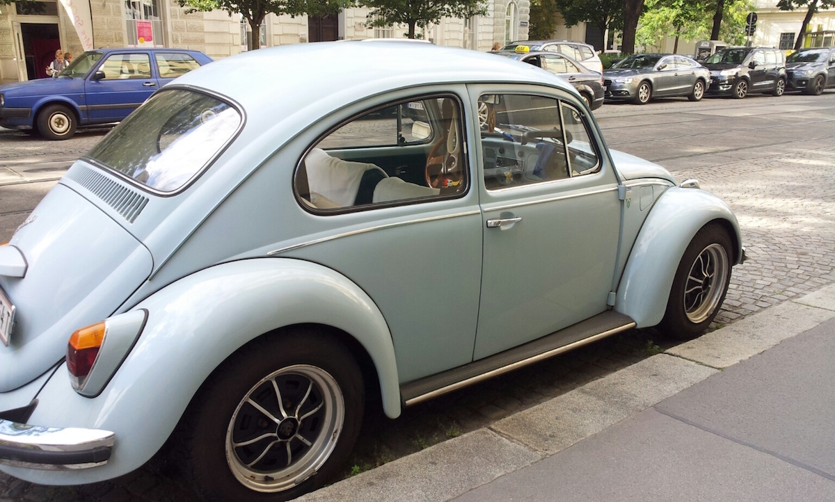 vw käfer in wien