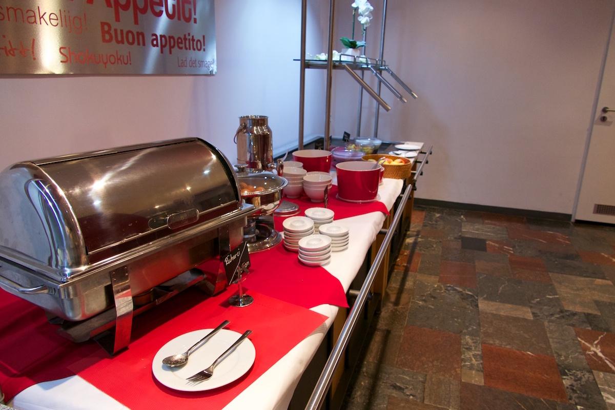 skyappart merseburg frühstücksbüffet