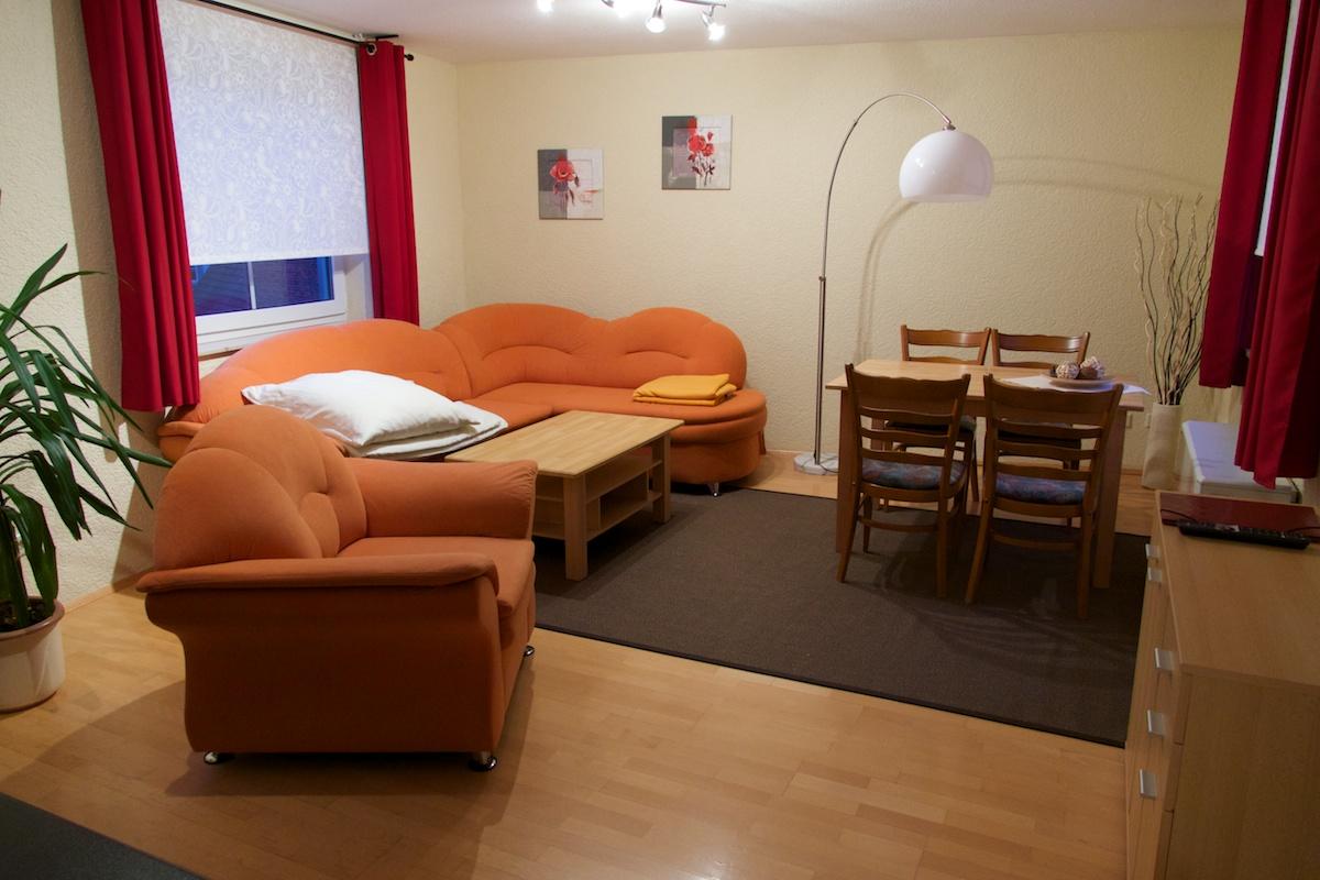 ritters weinstuben hotel und apartment wohnzimmer