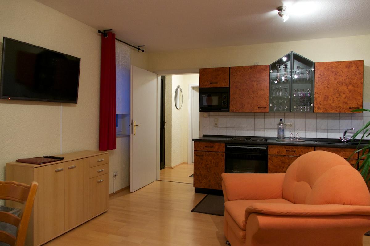 apartment in merseburg mit einbauküche im hotel ritters weinstuben