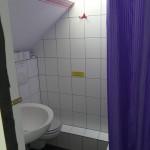 dusche in der zweiten etage