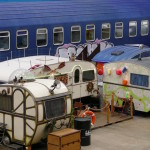 wohnwagengruppe im basecamp bonn