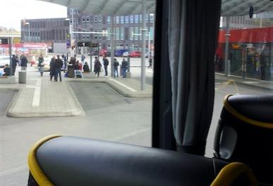 im postbus von hannover nach köln