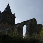 dichte wolken st sixti ruine merseburg
