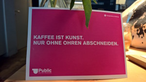 public coffee roasters postkarte