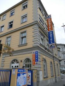 a&o hostel wien stadthalle von außen