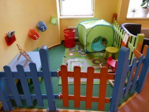 kinderspielzeug im hostel
