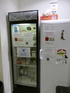 kühlschrank in der gästeküche