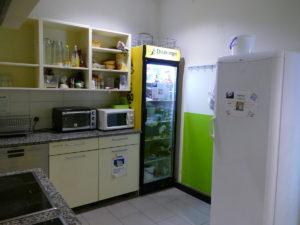 gästeküche in großaufnahme
