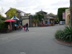 eingansbereich im london zoo