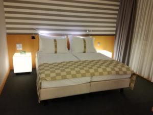 doppelbett im holiday inn wien