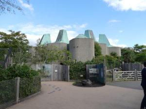 gebäude im london zoo