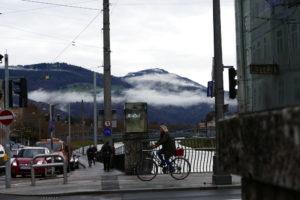 nebel auf dem kapuzinerberg salzburg