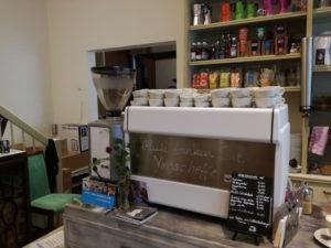 Kaffeemaschine im röstzimmer 15 in salzburg