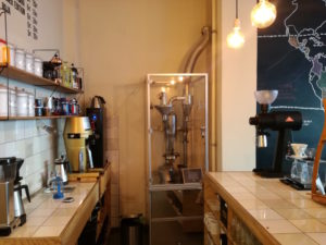 röstmaschine im 24grad kaffee hannover