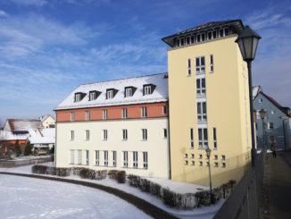 jugendherberge gunzenhausen von der altmühlbrücke aus