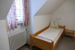 einzelbett in der juegndherberge gunzenhausen