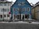 eingang des adebar bistros in gunzenhausen