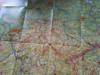 deutschlandkarte für die routenplanung
