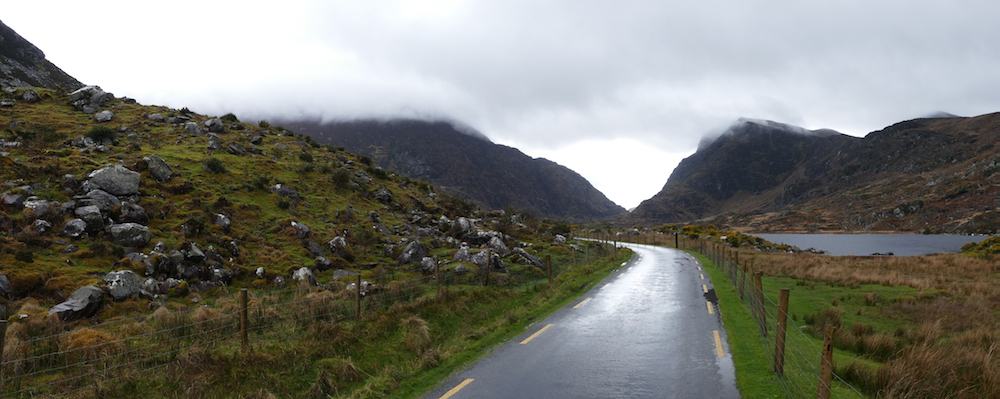 gap of dunloe im regen