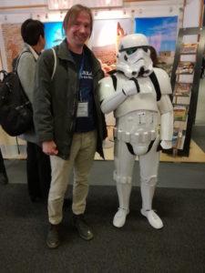 storm trooper und ich auf der itb 2017