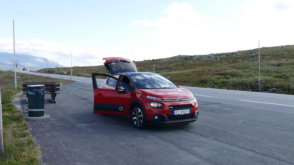 mietwagen norwegen wg reiseblogger