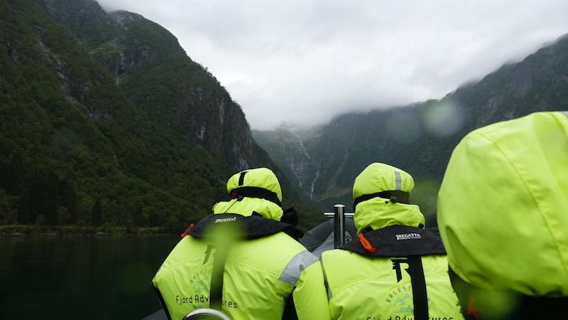 rib-boat tour in balestrand