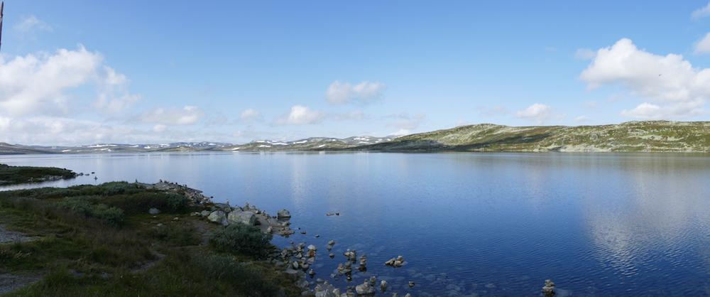 gletscher panorama nahe nesbyen