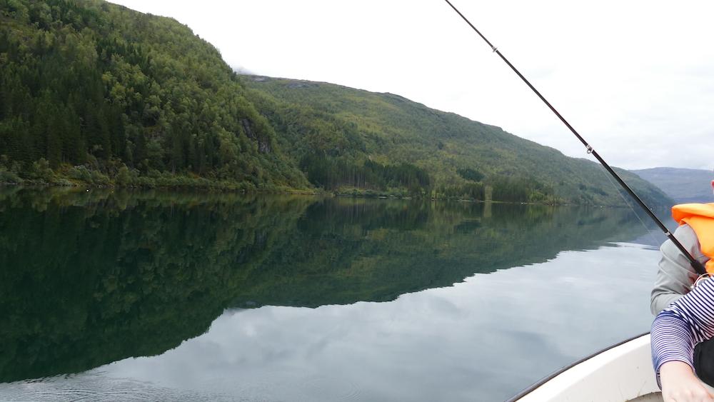 angeln auf dem haukedalsvatnet